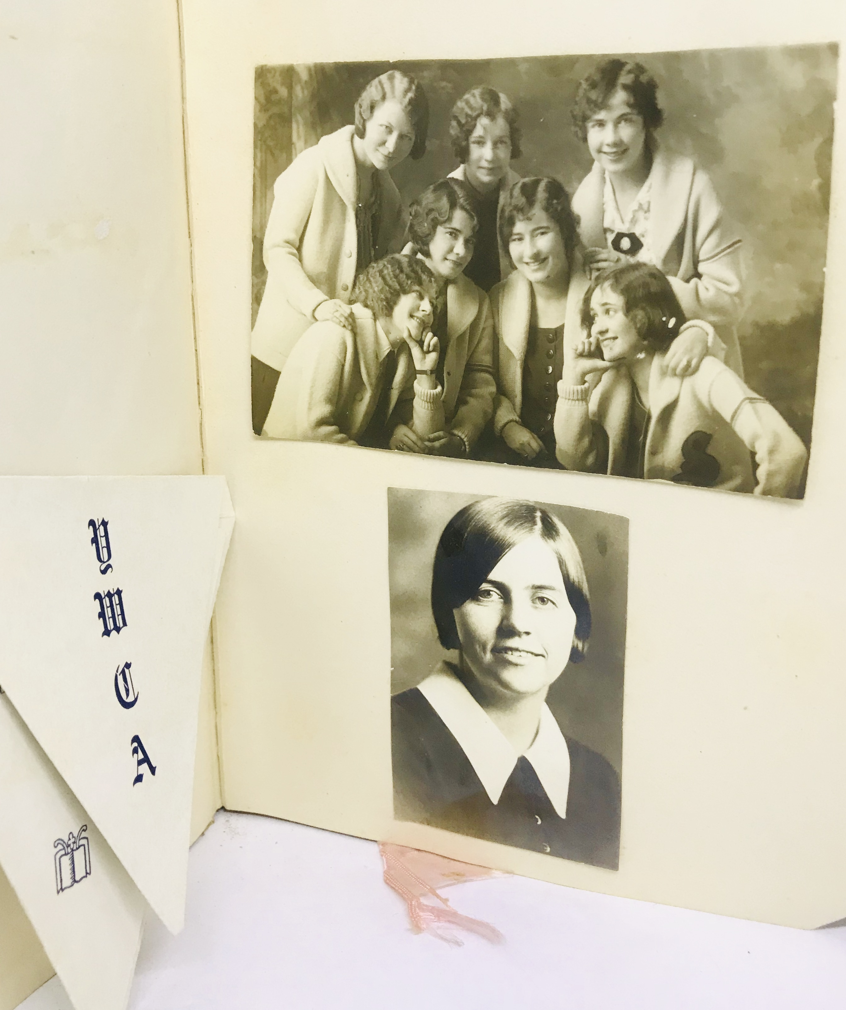 SCRAPBOOK] Young Woman's Photo & Scrapbook - Sterling College