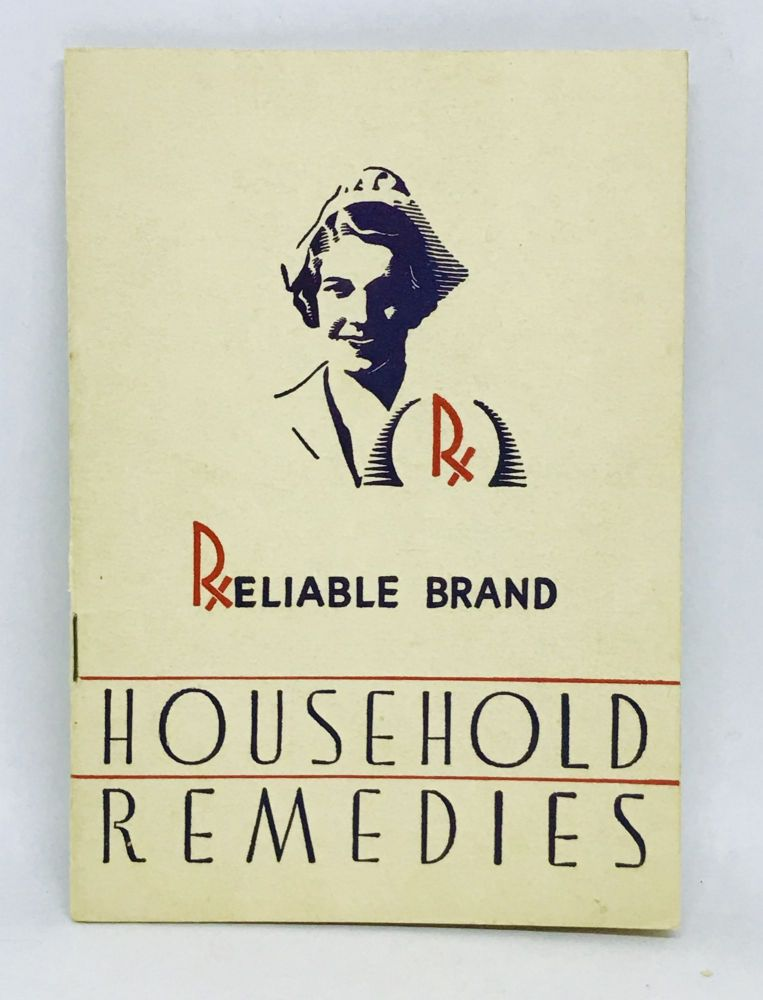 [FOOD HISTORY] RELIABLE Household Remedies. McCormick, Co.
