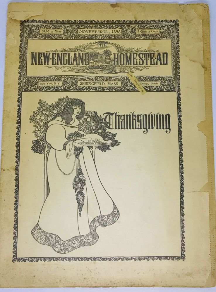 [MAGAZINE] The New England Homestead; THANKSGIVING November 21, 1896