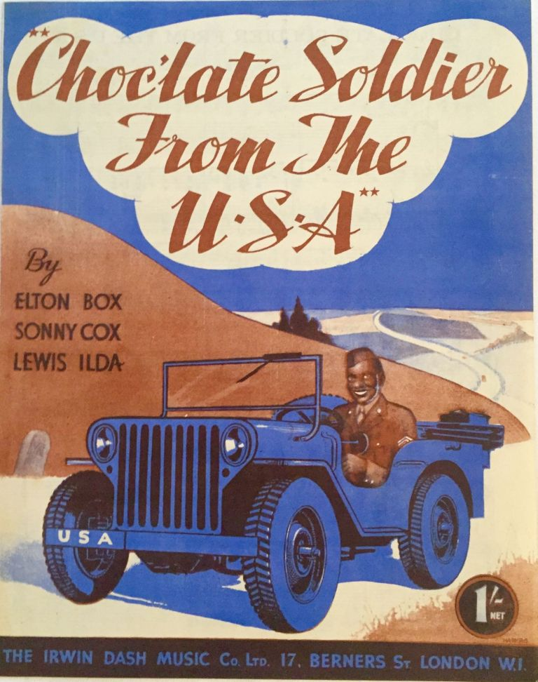 [SHEET MUSIC] Chocolate Soldier From The U.S.A. Elton Box, Sonny Cox, Lewis Ilda.