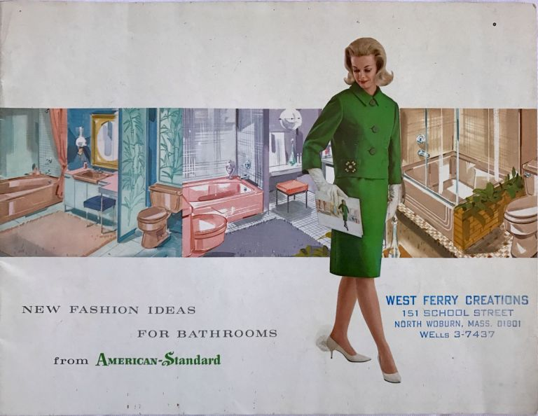 New Fashion Ideas For Bathrooms; from American-Standard. American-Standard Products.