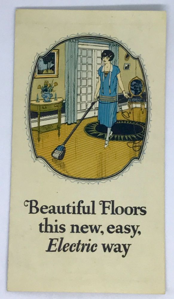 Beautiful Floors this new, easy Electric way. Johnson's Wax.