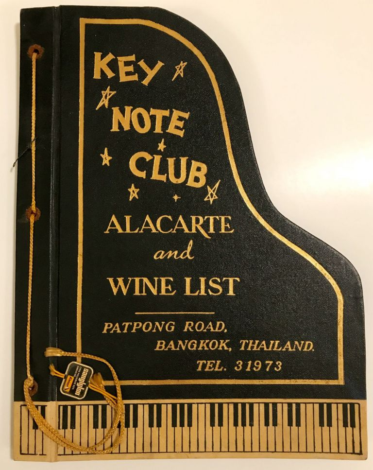 [MENU] Key Note Club; A La Carte and Wine List