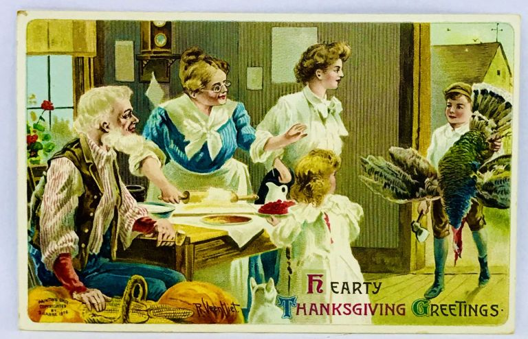 [POSTCARD] Hearty Thanksgiving Greetings