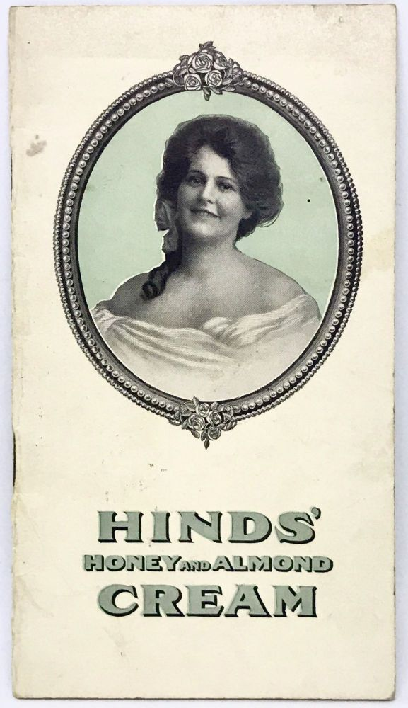 [ADVERTISING] HINDS' Honey and Almond Cream; For the Face, Hands, Skin and Complexion. A. S. Hinds.