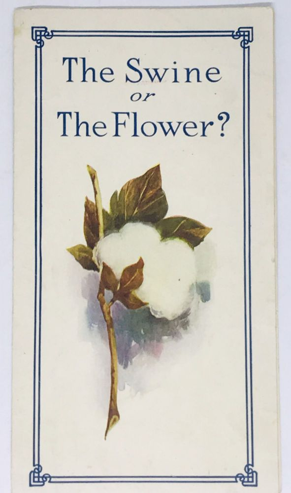 [FOOD ADVERTISING]The Swine or The Flower?
