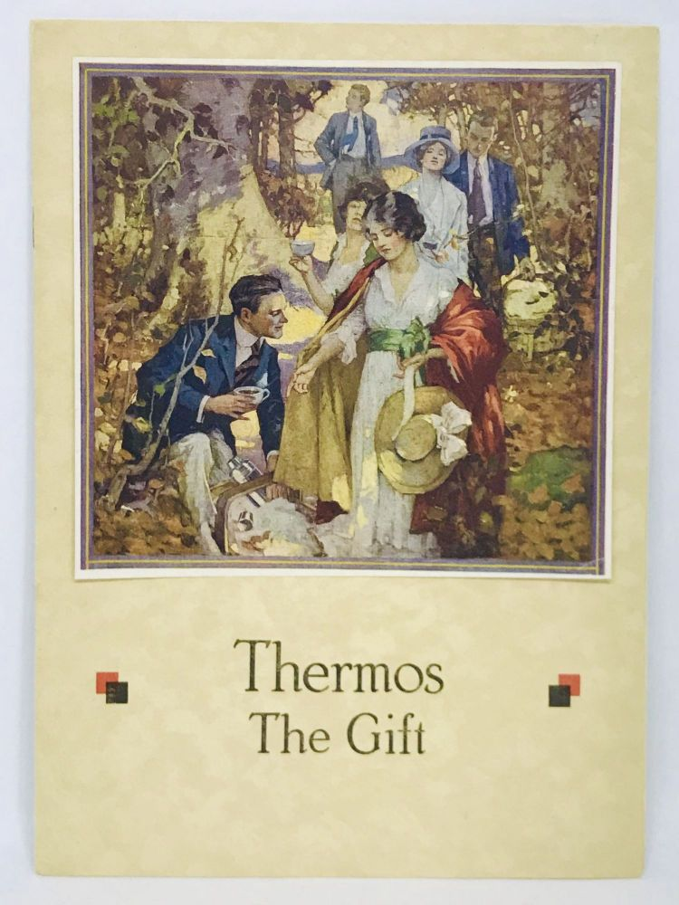 [ADVERTISING] Thermos The Gift; Winter Days and Summer Days are Thermos Days. American Thermos Bottle Co.
