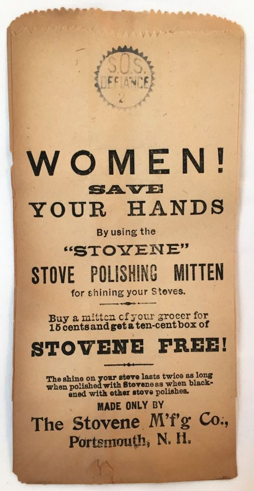 [DOMESTIC] [WOMEN] Women! Save Your Hands. The Stovene Manufacturing Company.