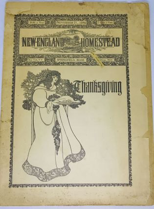 MAGAZINE] The New England Homestead; THANKSGIVING November 21, 1896