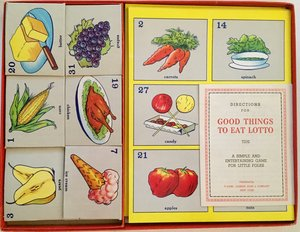 Good Things To Eat Lotto; A Simple And Entertaining Game For Little Folks