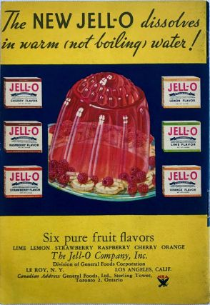 What Mrs. Dewey did with the NEW JELL-O!; 48 Fascinating New Recipes