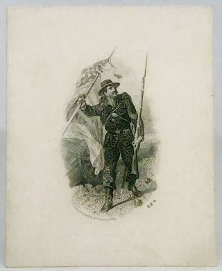 MENU] - Bill of Fare, Headquarters Eighth Regiment Infantry, Massachusetts Volunteer Militia;...