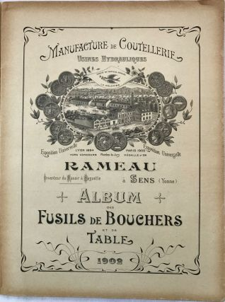 FRENCH] [TRADE CATALOG] Album des Fusils de Bouchers et de Table. Rameau
