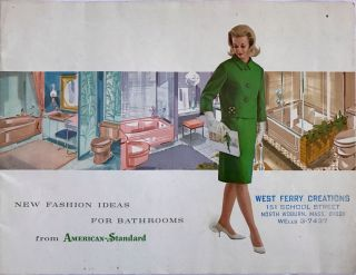 New Fashion Ideas For Bathrooms; from American-Standard. American-Standard Products