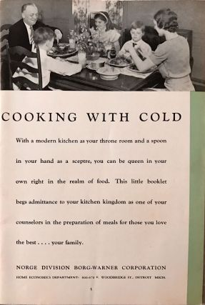 [REFRIGERATION] [DETROIT] Cooking With Cold
