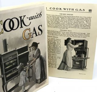 DETROIT] Cook with Gas; Jewel Stoves and Ranges