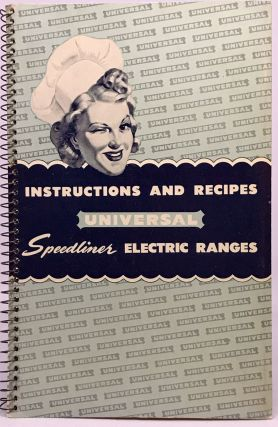 STOVES] Instructions and Recipes UNIVERSAL Speedliner Electric Ranges