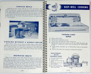 Instructions and Recipes UNIVERSAL Speedliner Electric Ranges