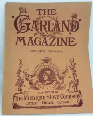 "TRADE CATALOG] [SHEET MUSIC] The ""Garland"" Magazine; An Illustrated Journal - Vol. III No. I"