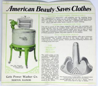 [HOME ECONOMICS] Safe Washing; The New American Beauty Porcelain Washer