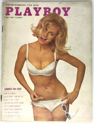 Sex And The Office (Article); PLAYBOY, Entertainment For Men - Summer Fun Issue. Helen Gurley Brown