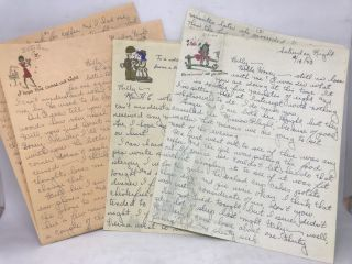 WOMEN] [WWII] Love letters; Vic & Billy