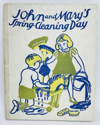 Collection of Three English Children's Books - John and Mary; Illustrations by E.L. Turner
