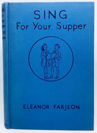 Sing for Your Supper; A Book of Verse for Boys and Girls
