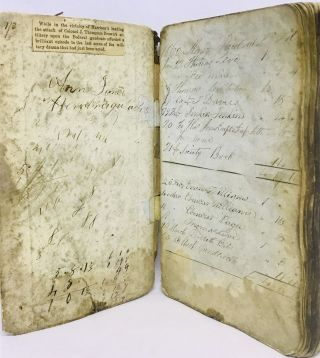 MANUSCRIPT] [TEMPERANCE] Account Book. Ann Jones