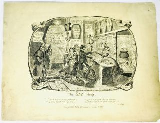 The Gin Shop. George Cruikshank