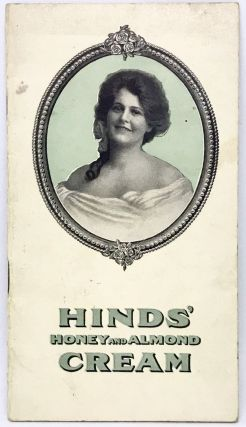 ADVERTISING] HINDS' Honey and Almond Cream; For the Face, Hands, Skin and Complexion. A. S. Hinds