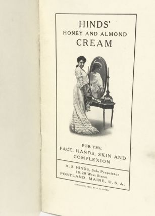 [ADVERTISING] HINDS' Honey and Almond Cream; For the Face, Hands, Skin and Complexion