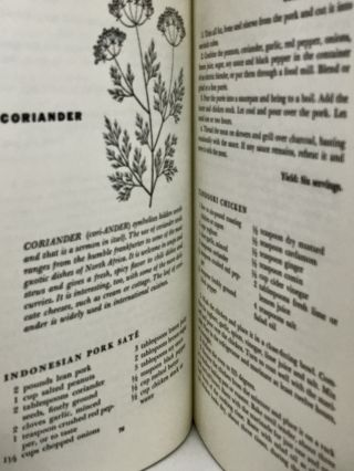 An Herb and Spice Cook Book; Drawings by Alice Golden