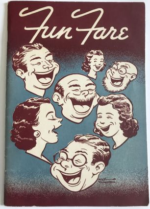RADIO] Fun Fare; A Booklet of Party Plans - Games, Menus, and Recipes - For Groups Large or...