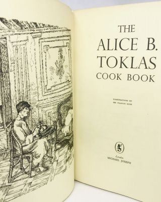 The Alice B. Toklas Cook Book; Illustrations by Sir Francis Rose