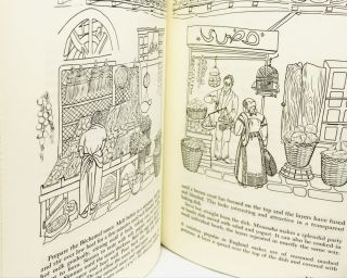 A Book of Middle Eastern Food; Illustrated by Alta Ann Parkins