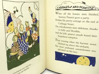 Cabbages and Peanuts; Illustrated by Fern Bisel Peat