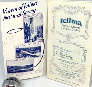 [PHARMACEUTICAL] Icilma; Preparations for the Toilet
