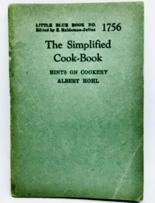 The Simplified Cook-Book; Hints On Cookery. Albert Hohl