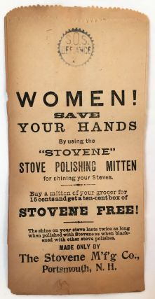 DOMESTIC] [WOMEN] Women! Save Your Hands. The Stovene Manufacturing Company